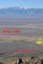 Paragliding Fluggebiet Nordamerika » USA » Kalifornien,Paiute/ Pajute,