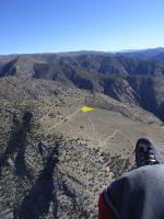 Paragliding Fluggebiet ,,Startplatz (Flug von Paiute herkommend)