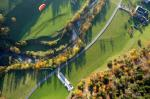Paragliding Fluggebiet Europa » Österreich » Oberösterreich,Schoberstein,Landeplatzu beim Gasthaus Steiner-Kraml bei Molln. Oktober 2008.