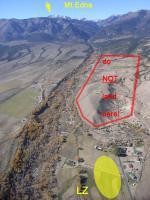 Paragliding Fluggebiet Nordamerika » USA » Utah,Mt.Edna,LZ