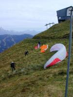 Paragliding Fluggebiet ,,Start am Schattberg West