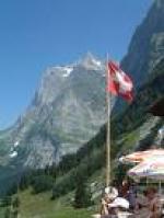 Paragliding Fluggebiet Europa » Schweiz » Bern,Pfingstegg,Das Restaurant Pfingstegg lädt zu einem Imbiss ein. Wenn es hier hoch geht, dann ist die Kulisse einfach traumhaft