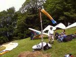 Paragliding Fluggebiet Europa » Österreich » Vorarlberg,Hochjoch - OEAV-Gästehaus Schrunsblick,Startplatz leicht, Landeplatz leicht
