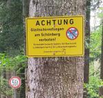Paragliding Fluggebiet Europa » Deutschland » Bayern,Sonnberg Tegernseer Hütte,GS-Fliegen am Schoenberg hat die Gemeinde Lenggries ausdrücklich untersagt