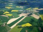 Paragliding Fluggebiet ,,Blick aus Richtung Süd auf die Schleppstrecke Aufnahme: Detlef Kirchhoff