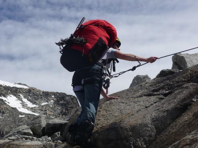 Klettereinlagen sind auch möglich!