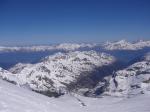 Paragliding Fluggebiet Europa » Schweiz » Wallis,Bishorn,Gipfelblick Nord