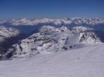 Paragliding Fluggebiet Europa » Schweiz » Wallis,Bishorn,Gipfelblick NNO