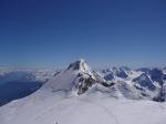 Paragliding Fluggebiet Europa » Schweiz » Wallis,Bishorn,Das kleine von den beiden Bishörnern mit weiterer Startmöglichkeit SW