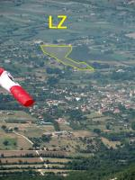 Paragliding Fluggebiet Europa » Italien » Kampanien,Mte Ariola/ Mte Angiolillo/ Calvisi,LZ in San Potito
