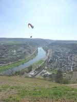 Paragliding Fluggebiet Europa » Deutschland » Rheinland-Pfalz,Rosenberg,Ralf B. am 2.4.2011 bei sportlichen Bedingungen