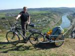Paragliding Fluggebiet Europa » Deutschland » Rheinland-Pfalz,Arzbach (Grosser Kopf Westerwald)W-NW,Eine gute Möglichkeit, den Startplatz ohne Auto zu erreichen
