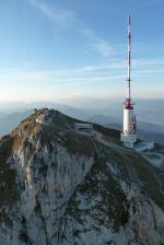 Paragliding Fluggebiet Europa » Österreich » Kärnten,Villacher Alpe / Dobratsch,Sonnenuntergang am Dobratscher Gipfel.