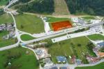 Paragliding Fluggebiet Europa » Italien » Friaul-Julisch Venetien,Monte Lussari,Landeplatz bei der Talstation in Camporosso (Tarvis)