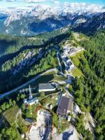 Paragliding Fluggebiet Europa » Italien » Friaul-Julisch Venetien,Monte Lussari,Der Luschariberg von oben