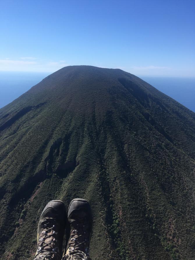 Im Anflug auf den Monte dei Porri