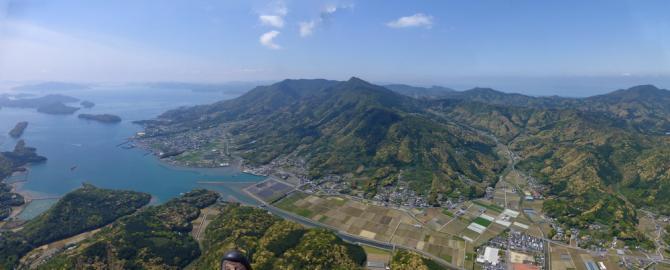 Blick zum Mt.Kura