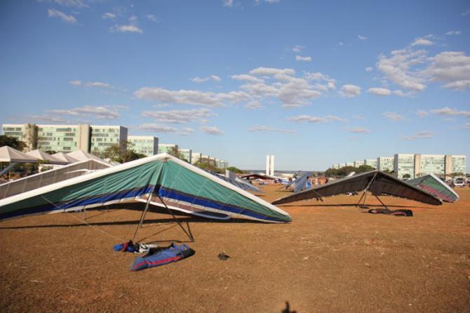 Landen in Brasilia... @luxartifexp
