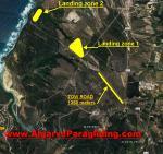 Paragliding Fluggebiet Europa » Portugal » Algarve,The Pilot's Bed & Breakfast,Windenschlepp Strecke. Tow Field.