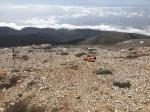 Paragliding Fluggebiet Europa » Griechenland » Inseln,Kreta (White Mountains - Levka Ori) Gipfel: Thodori Korfí,Startplatz Koráfas Korfí, ca. 2000müM