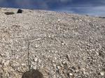 Paragliding Fluggebiet Europa » Griechenland » Inseln,Kreta (White Mountains - Levka Ori),Startplatz Dochí vor der Steinreinigungsaktion
