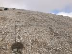 Paragliding Fluggebiet Europa » Griechenland » Inseln,Kreta (White Mountains - Levka Ori),Startplatz Dochí nach gehabter Reinigung - alle grösseren Steine rausgeschmissen...