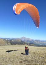 Paragliding Fluggebiet Nordamerika » USA » Colorado,Whale Hill,Parawaiting... (Blick zum Mt.Princeton)