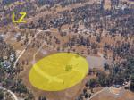 Paragliding Fluggebiet Nordamerika » USA » Kalifornien,Tollhouse,LZ