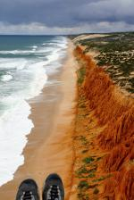 Paragliding Fluggebiet Europa » Portugal,Praia do Pinheirinho,