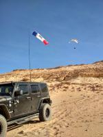 Paragliding Fluggebiet Afrika » Ägypten,Ayman, North West Hurghada,Beim Aufsoaren