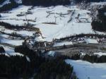Paragliding Fluggebiet Europa » Österreich » Tirol,Brandstadl,Der Landeplatz hinter der Strasse.