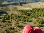 Paragliding Fluggebiet Europa » Frankreich » Rhone-Alpes,Séderon - Mévouillon: le Buc,riesige LZ (mit Windsack)