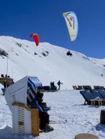 Paragliding Fluggebiet Europa » Schweiz » Graubünden,Davos - Jakobshorn,Winterliches Soaring auf dem Jakobshorn