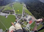 Paragliding Fluggebiet ,,Landeplatz Engelberg