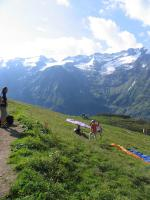Paragliding Fluggebiet Europa » Schweiz » Obwalden,Fürenalp - Engelberg,Startplatz