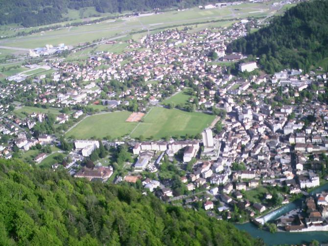Bild vom 10.05.07 Lp Interlaken Höhmatte, vom Harder aus beim soaren.