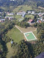 """Paragliding Fluggebiet Europa » Frankreich » Rhone-Alpes,Saint Hilaire du Touvet,Der weltberühmte """"Teppich"""", wo jedes Jahr im Herbst das Flugfestival stattfindet"""