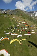 Paragliding Fluggebiet Europa » Schweiz » Bern,Grindelwald First - Pfingstegg - Waldspitz,Startplatz First (SM 2005?)  mit freundlicher Bewilligung ©www.azoom.ch
