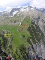 Paragliding Fluggebiet Europa » Schweiz » Bern,Allmenalp - Kandersteg,Startplatz Allmenalp