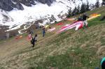 Paragliding Fluggebiet Europa » Schweiz » Bern,Allmenalp - Kandersteg,Genügend Platz für alle..
