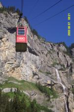 Paragliding Fluggebiet Europa » Schweiz » Bern,Allmenalp - Kandersteg,Die 8-er Kabine nach Allmenalp
