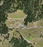 Paragliding Fluggebiet Europa » Schweiz » Bern,Kandersteg - Oeschinensee,Beide Startplätze des Fluggebietes