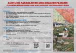 Paragliding Fluggebiet ,,Flugregeln