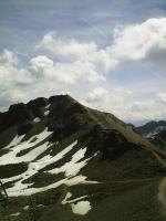 Paragliding Fluggebiet Europa » Schweiz » Graubünden,Parpaner Rothorn - Lenzerheide,Startplatz aus Sicht der Bergstation