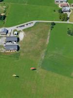 Paragliding Fluggebiet Europa » Frankreich » Rhone-Alpes,Mont Bisanne,LZ in Beaufort (Marcot) ATTN: Talwind am Nachmittag!