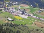 Paragliding Fluggebiet Europa » Schweiz » Graubünden,Motta Naluns,Landeplatz Schuls -West: bei Berg- und mässigen Talwind, sonst turbulent