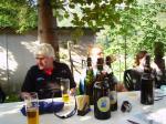 Paragliding Flugschule Europa » Schweiz,Flugschule Birdwing,Im Pontli(Landelatz Du Pont) darf das Haslibier nicht fehlen! Foto by Vaudee