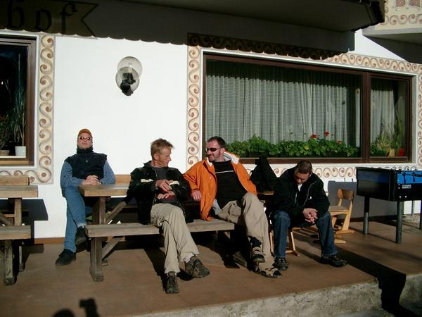 Die drei von der ....... Mike, Klaus und Björn. Foto: André