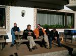 Paragliding Reise Bericht Europa Italien Trentino-Südtirol,Südtirol - Vintl und Umgebung, Weitental,Die drei von der ....... Mike, Klaus und Björn. Foto: André
