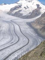 Paragliding Reise Bericht Europa Italien Trentino-Südtirol,Rundreise durch die Alpen,Biplace über dem Aletschgletscher